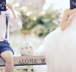 結婚式 – mさん&pさん
