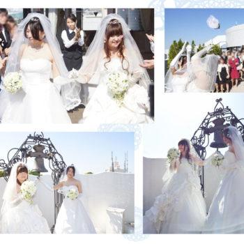 結婚式 – 絢さん&美由紀さん