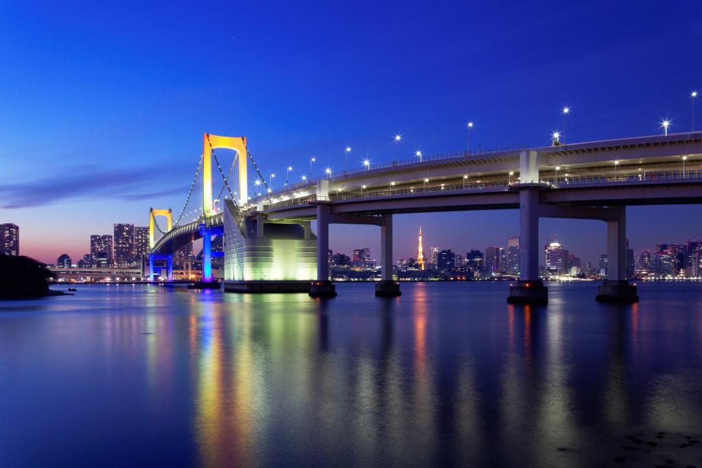 東京湾夜景画像 (2)